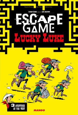 Escape Game Lucky Luke : 3 aventures au Far West