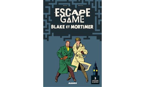 Escape Game Blake et Mortimer : 3 aventures so British