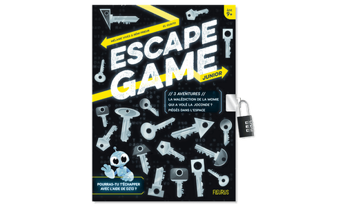 Escape Game Junior : 3 aventures (La malédiction de la momie – Qui a volé la Joconde ? – Piégés dans l'espace)