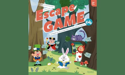 EscapeGame Kids: Échappe-toi du monde d'Alice au pays desmerveilles!
