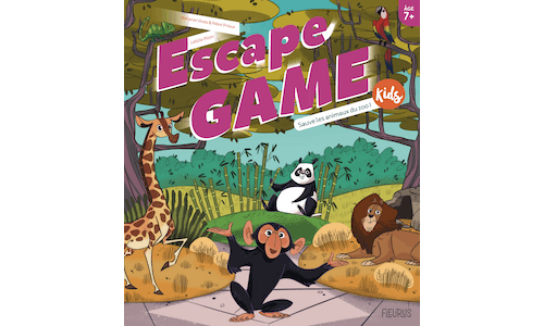 Escape Game Kids : Sauve les animaux du zoo !