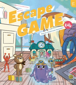 Escape Game Kids : Pars en mission avec tes jouets !