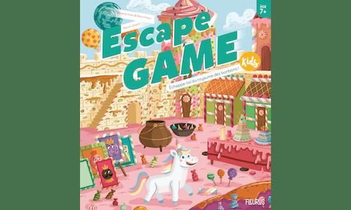 Escape Game Kids: Échappe-toi du royaume desbonbons!