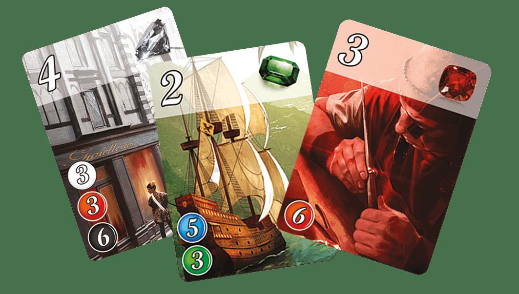 Splendor Marvel - cartes de jeu