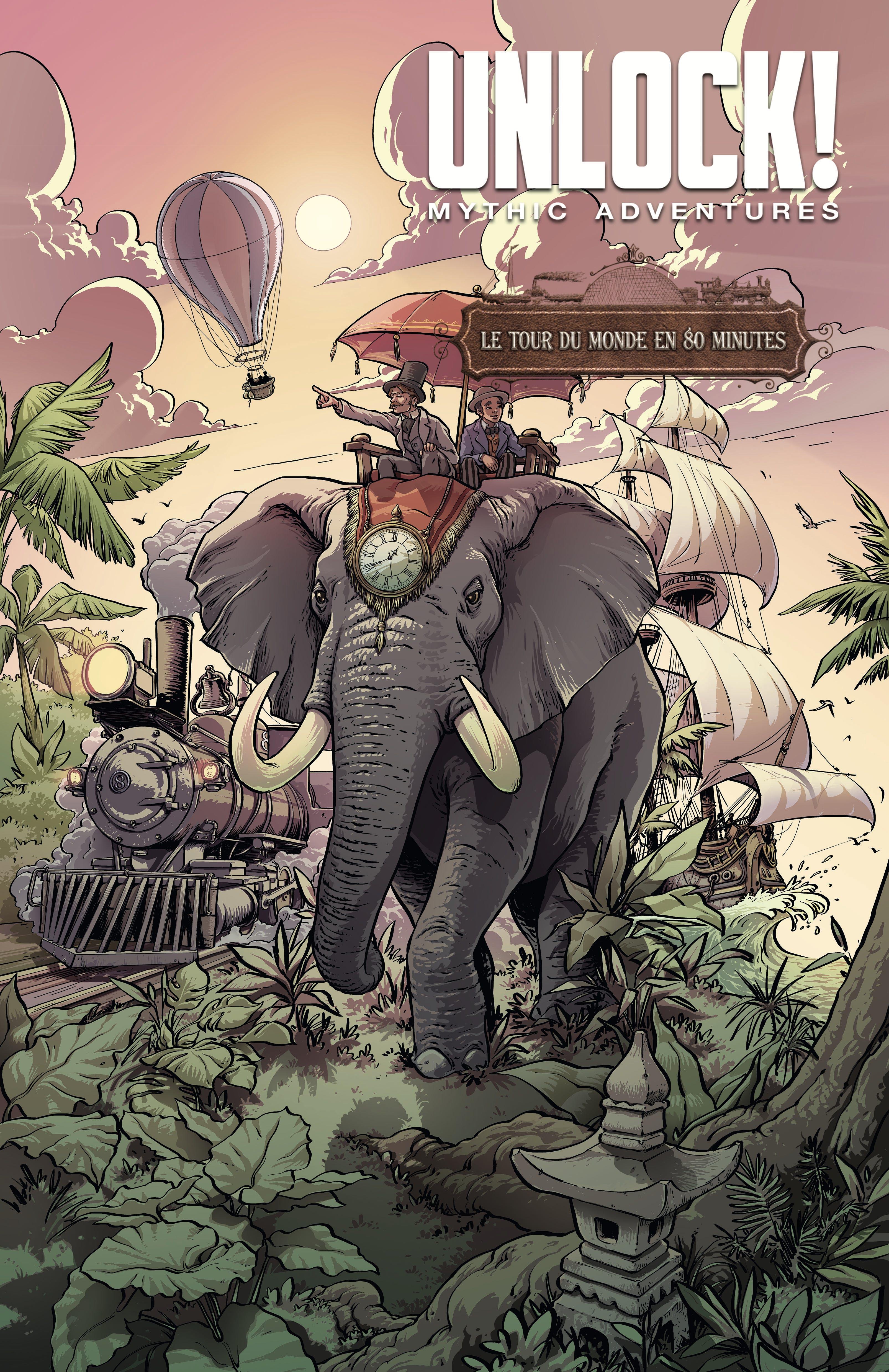 Unlock! Mythic Adventures - Le tour du monde en 80 minutes