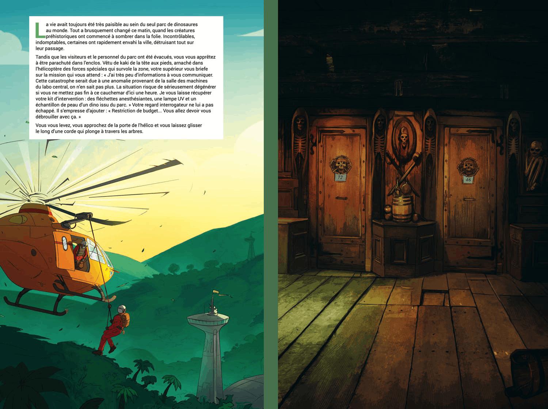 Pages du livre Escape Game - Piégés dans l'épave : la revanche du corsaire