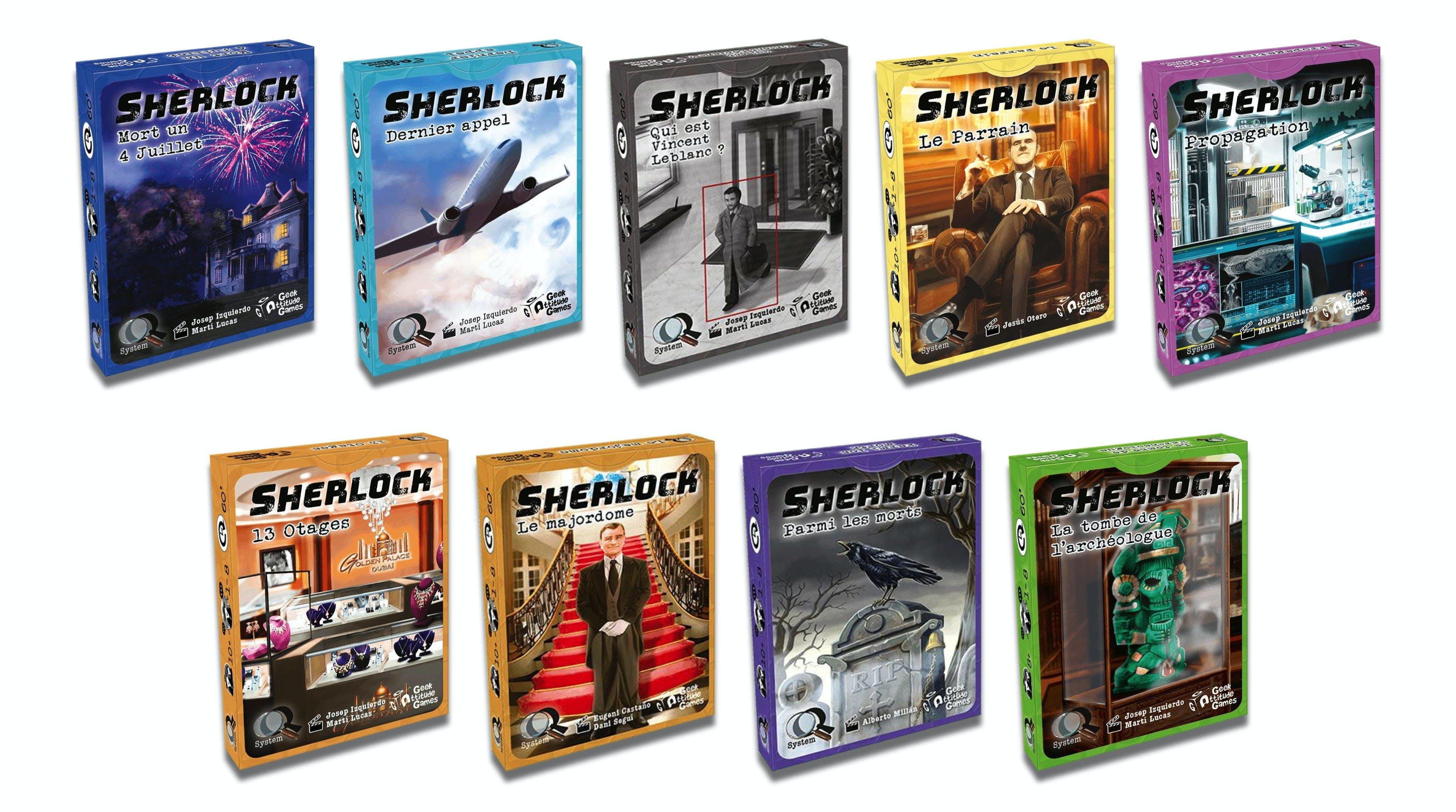 Collection Sherlock