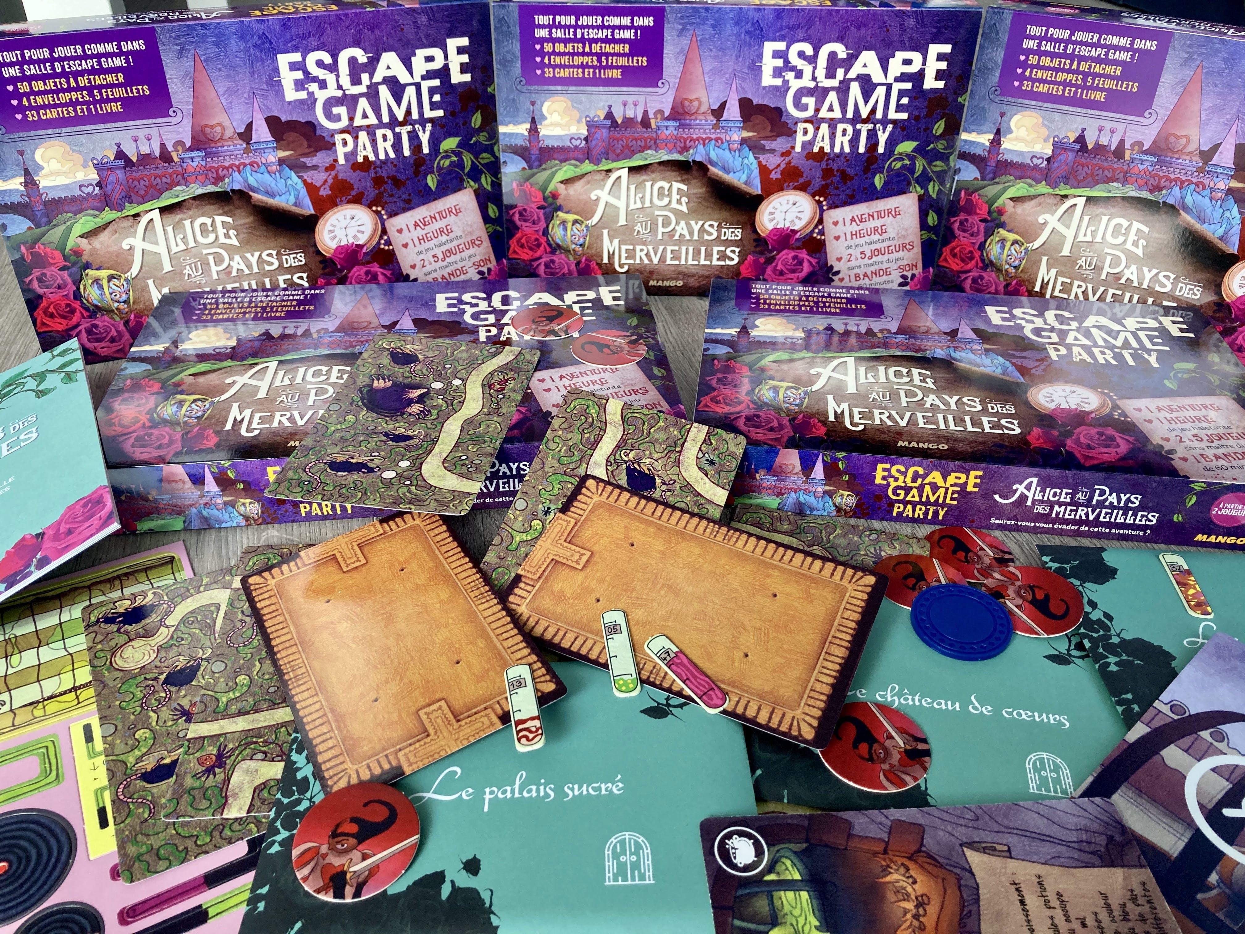 Escape Game Party - Alice au pays des merveilles
