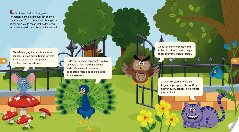 Page Escape Game Kids - Échappe-toi du monde d'Alice au pays des merveilles !