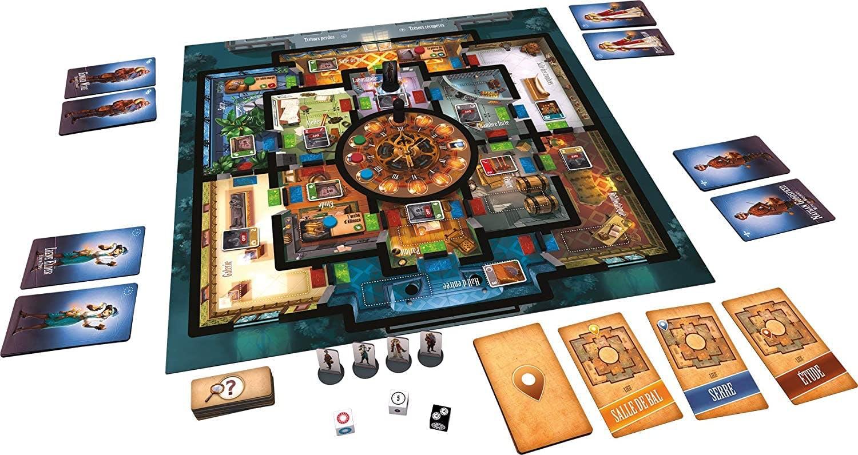 Plateau de jeu - Professeur Evil et la Citadelle du Temps