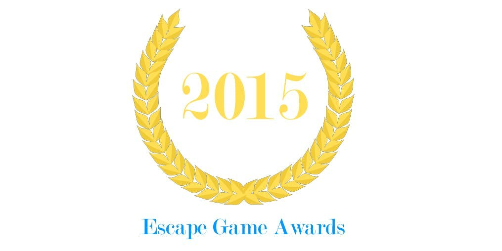 Premier logo des Escape Game Awards en 2015