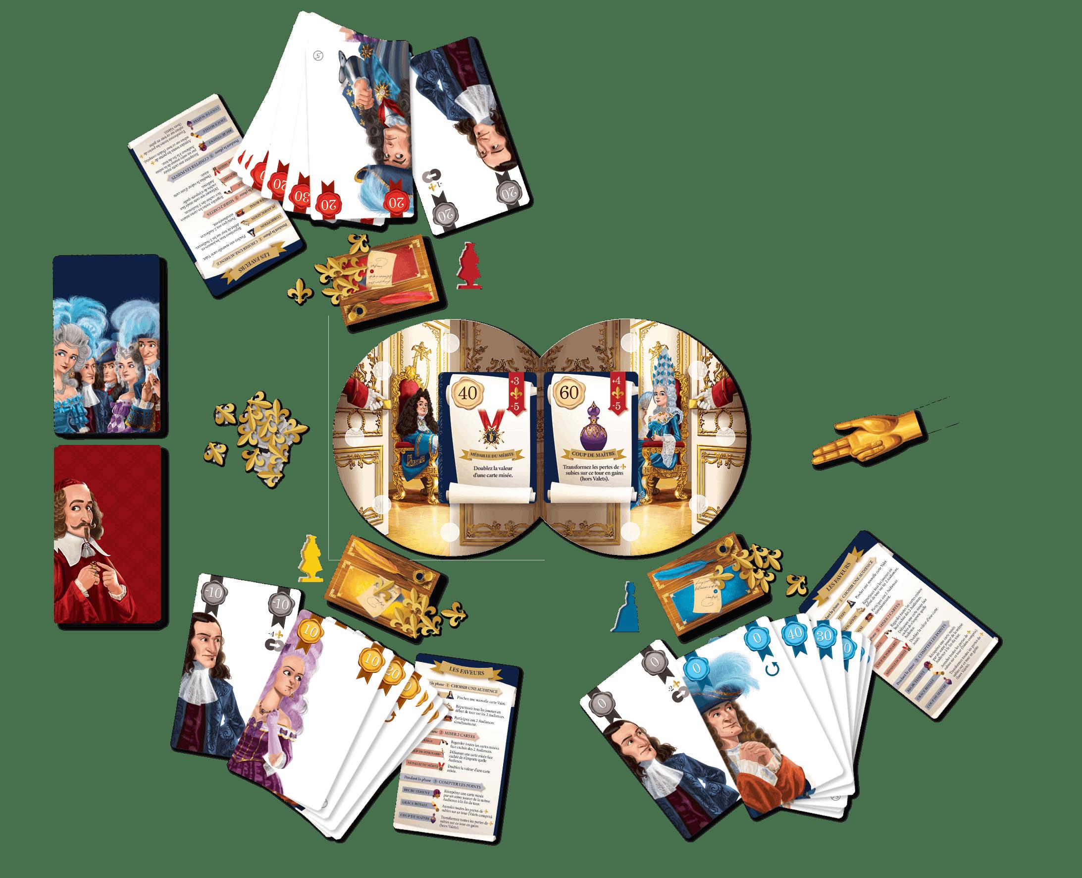 Royal Secret - mise en place