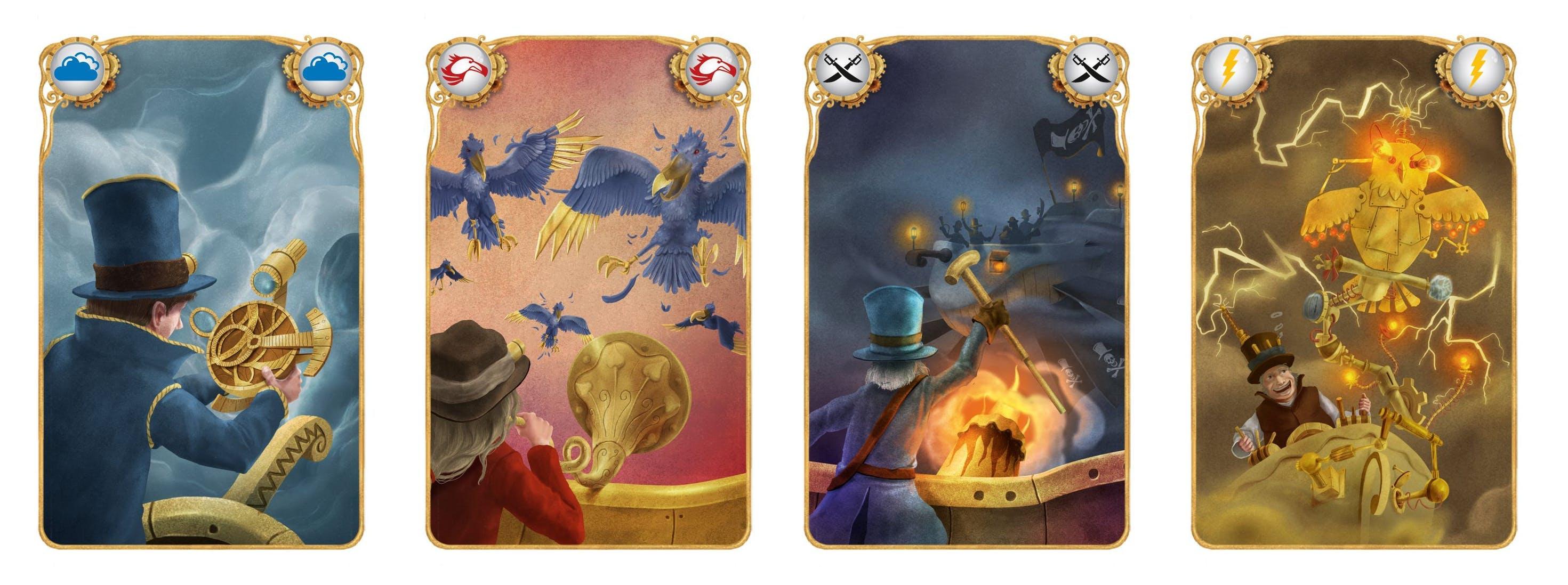 Celestia - cartes de jeu