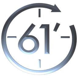 61 Minutes Chrono