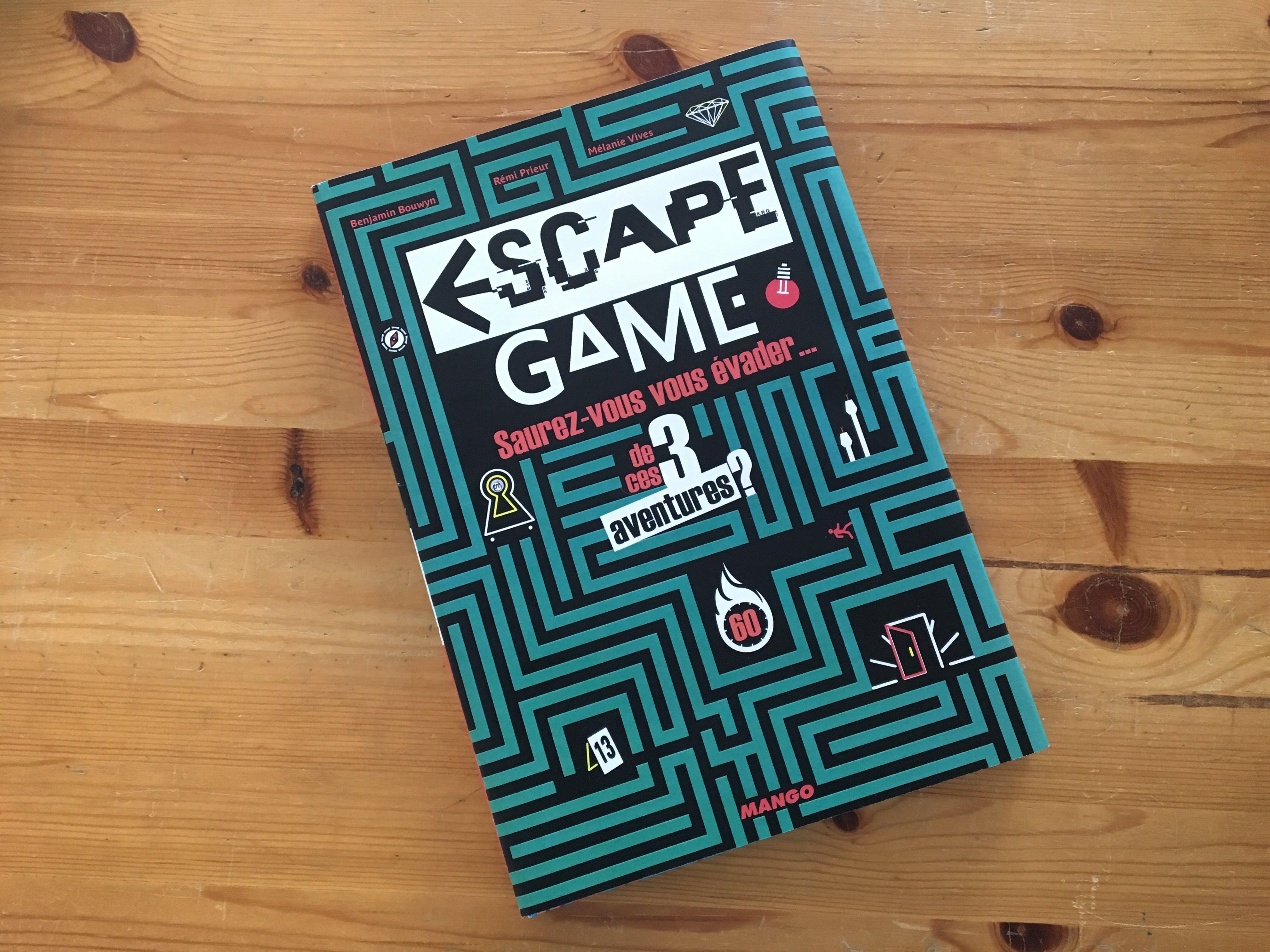 Couverture Escape Game Livre