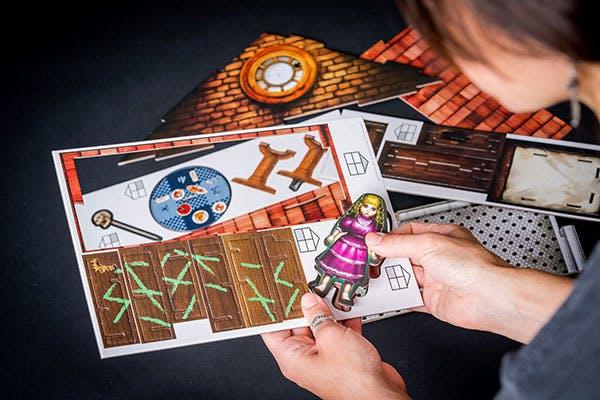 Escape the room : La maison de poupée maudite (construction)