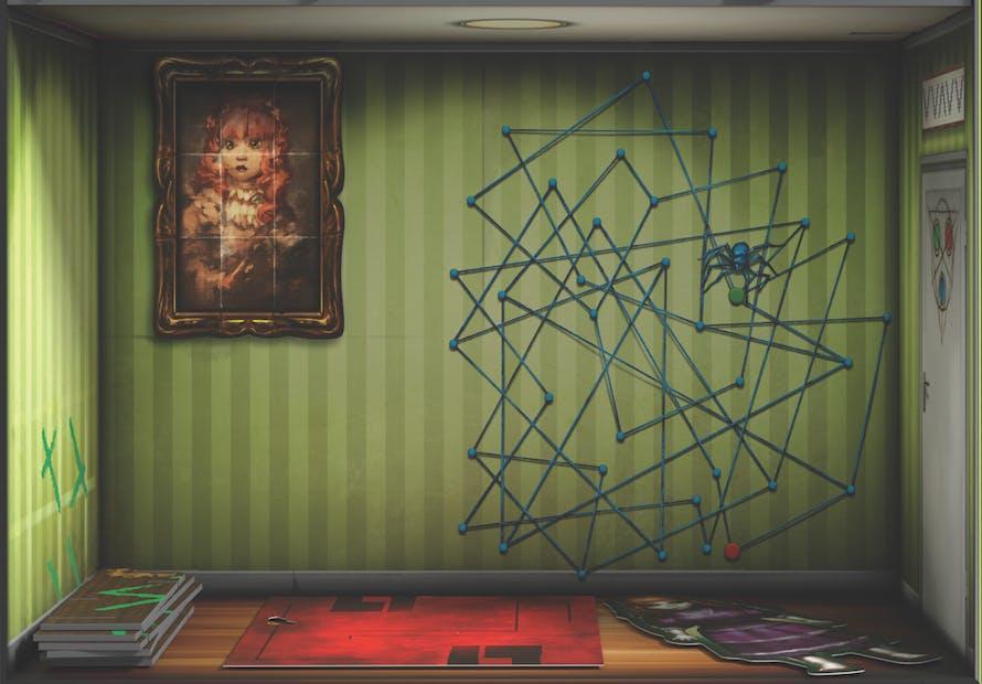 Escape the room : La maison de poupée maudite (Salon)