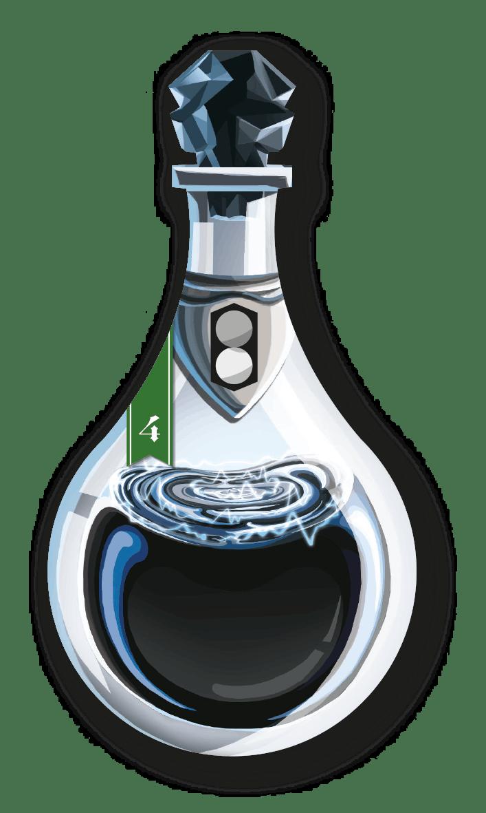 Potion Explosion - exemple de potion 1