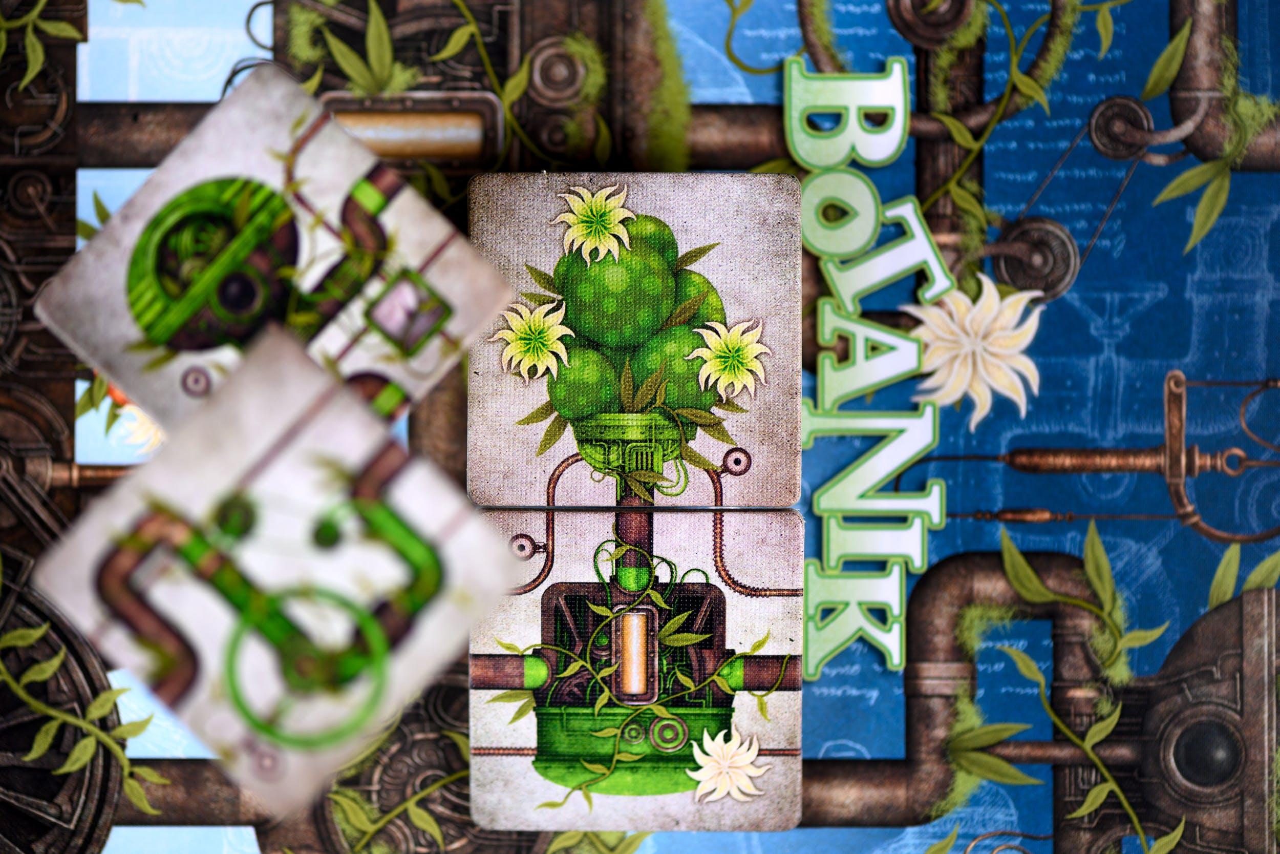 Botanik - tuiles connectées