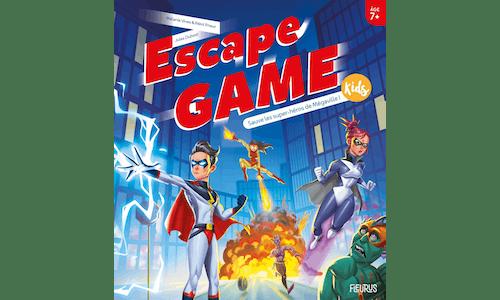 EscapeGame Kids: Sauve les super-héros deMégaville!