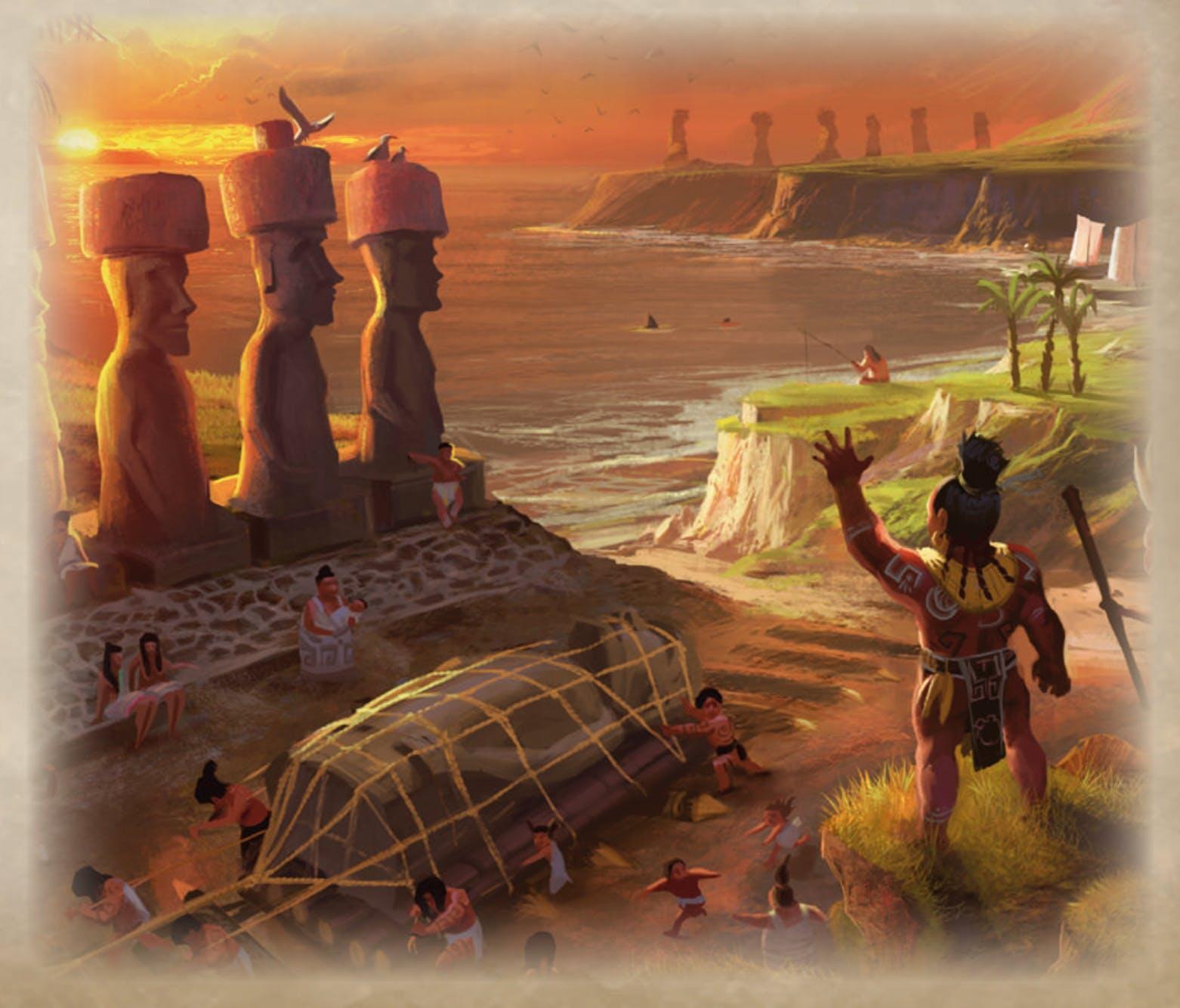 Rapa Nui - Illustration