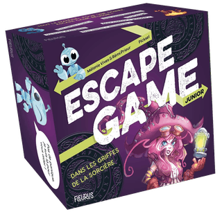 Escape Game Junior: Dans les griffes de laSorcière