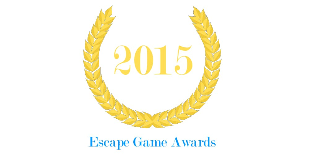 Logo des Escape Game Awards 2015