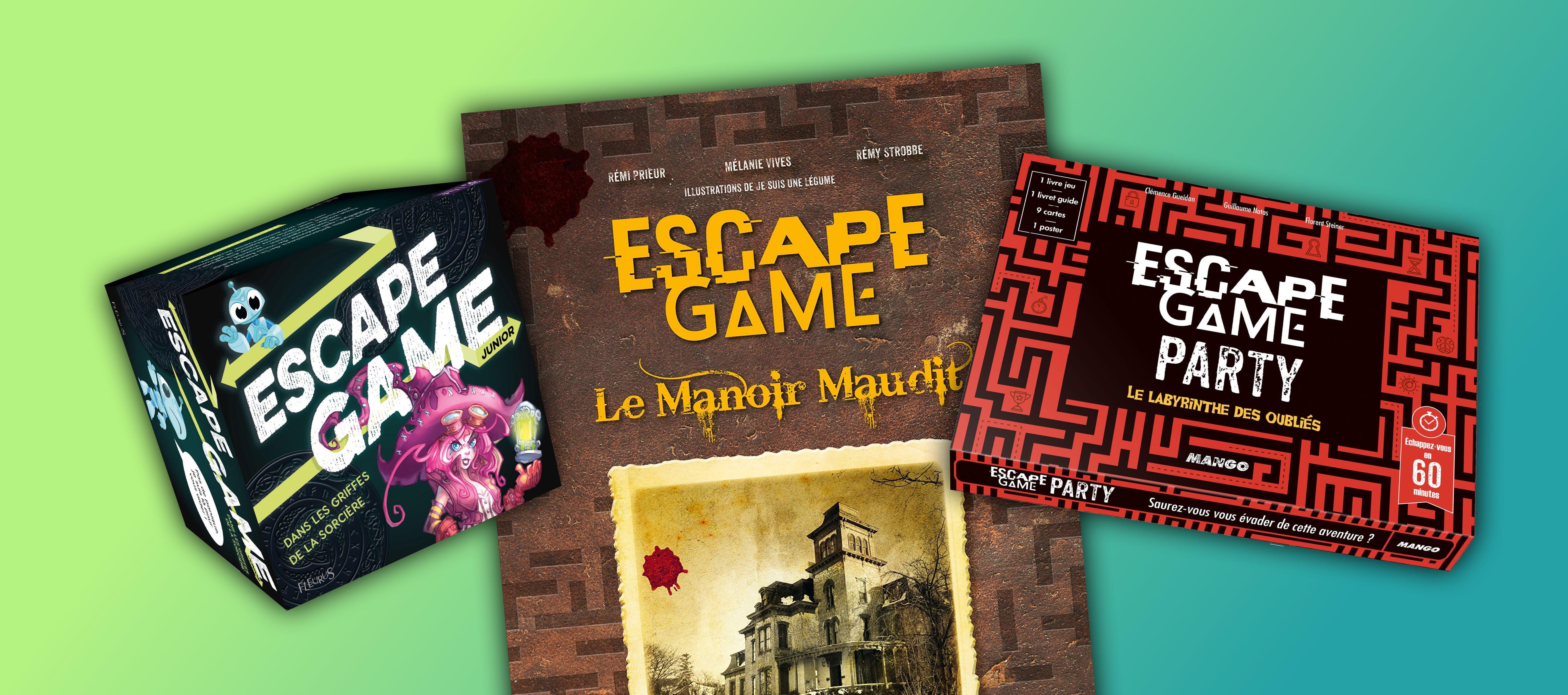 Boites De Jeux Livre Augmente La Collection Escape Game