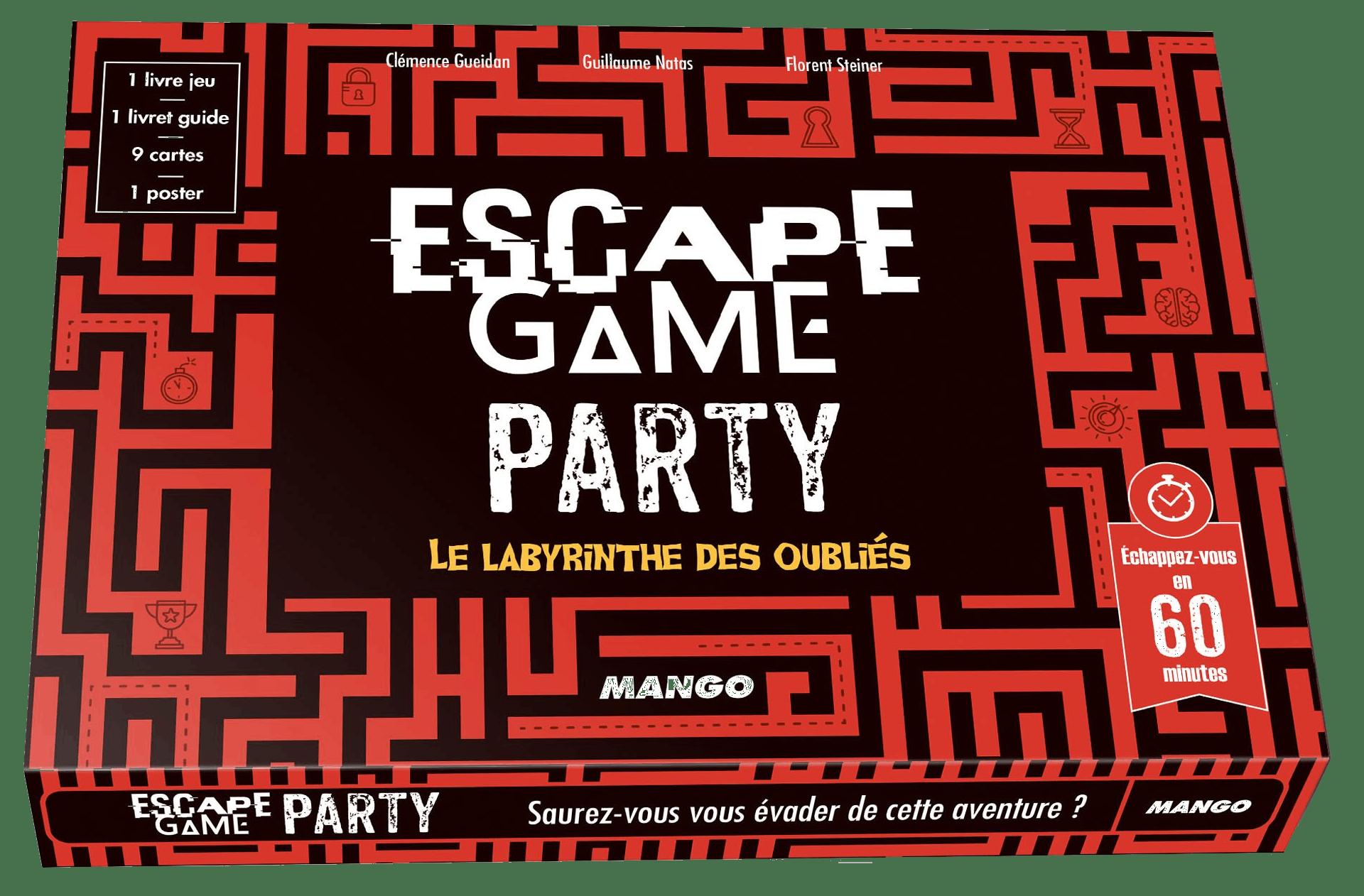 Escape Game Party : Le Labyrinthe des Oubliés