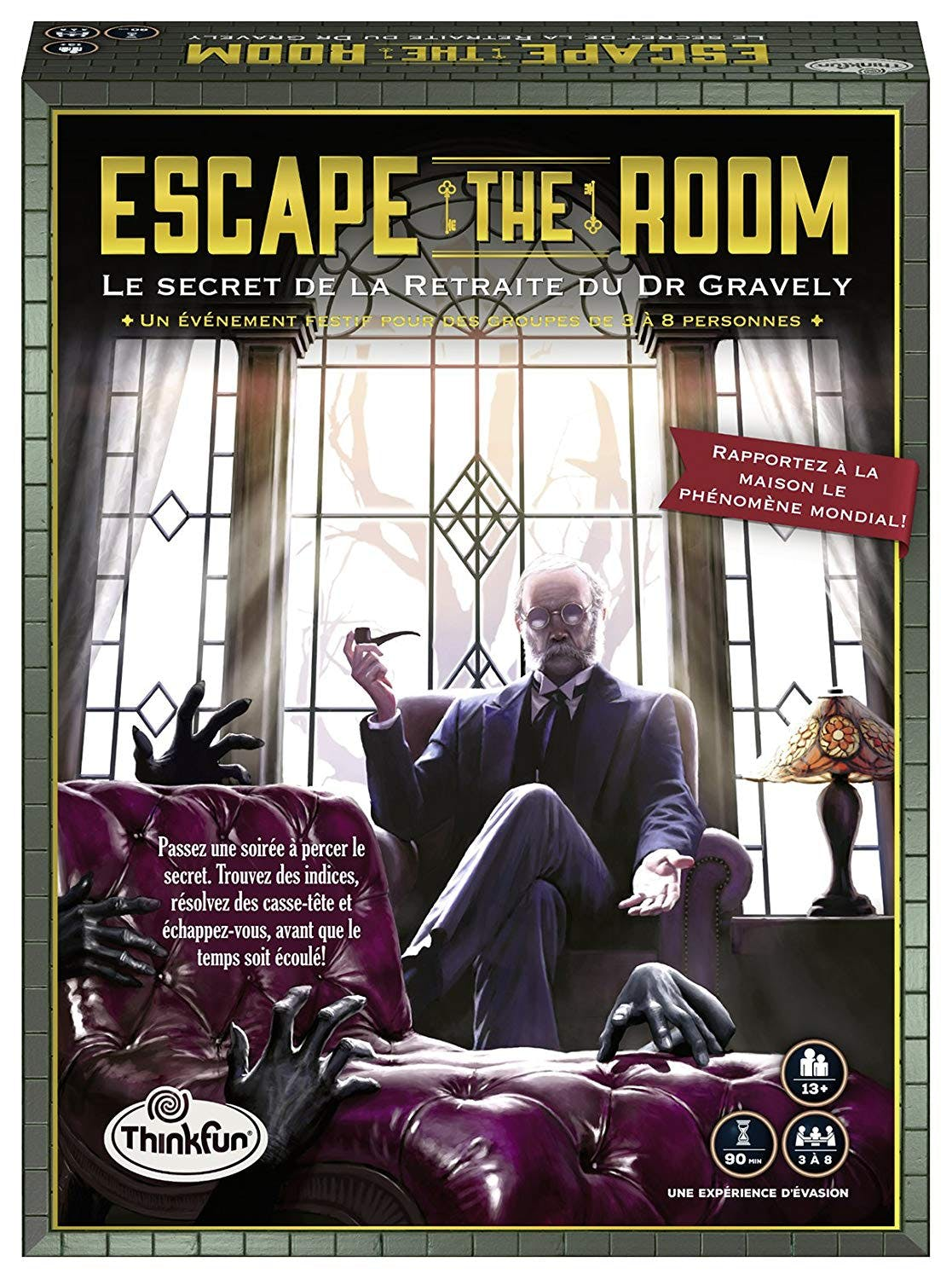 Escape The Room : Le Secret de la Retraite du Dr Gravely