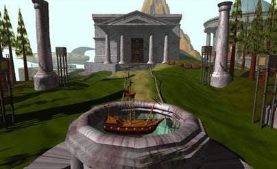 Capture d'écran du jeu Myst