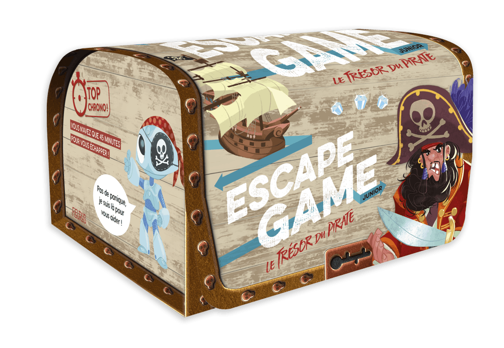 Escape Game Junior : Le Trésor du Pirate