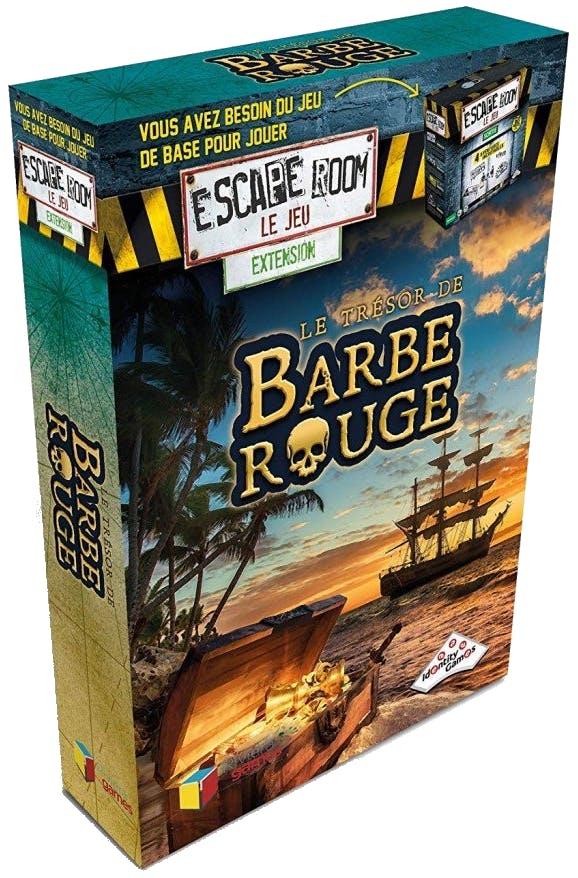Escape Room - Le Trésor de Barbe Rouge