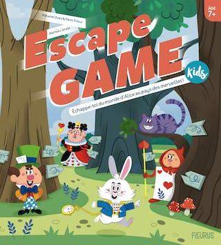 Escape Game Kids : Échappe-toi du monde d'Alice au pays des merveilles !