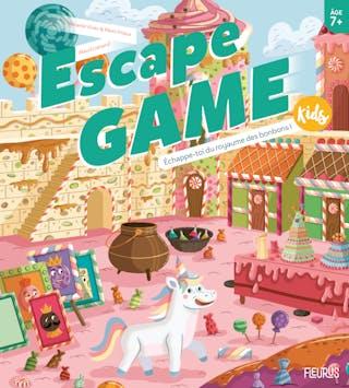 Escape Game Kids : Échappe-toi du royaume des bonbons !